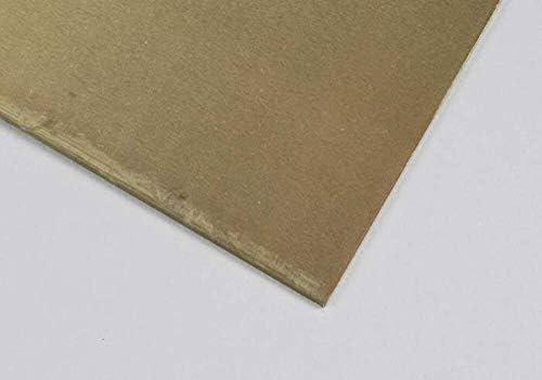 """Brass Sheet Plate .025/"""" 22 gauge 8/"""" x 8/"""""""