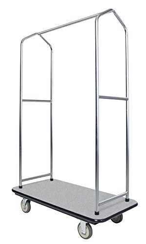 Find Cheap Ex-Cell Kaiser 780 EC Traveler's Series Economy Bellman's Cart, Steel, 1000 lbs Capacity, 43″ Length x 23″ Width x 68″ Height