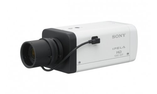 Sony Ethernet Webcam - Sony IPELA SNC-EB600B Network Camera - Color, Monochrome - CS Mount