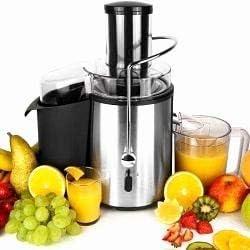Licuadora de zumo de fruta, 1000 W, depósito de 2 litros: Amazon ...