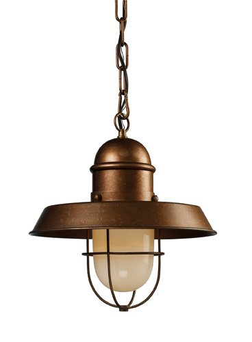Bellwether Collection (Elk 65049-1 Farmhouse 1-Light Pendant, 21-Inch, Bellwether Copper)