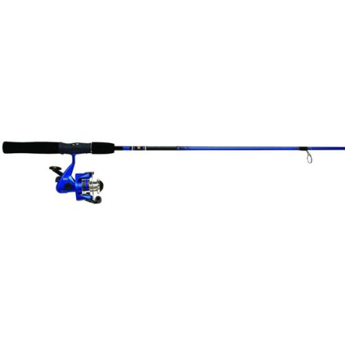 Zebco Slingshot 202/562M Spin Fishing Rod and Reel Combo, Colors May Vary