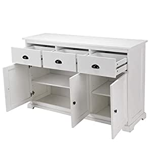 Amazon.com - GiantexCDE Storage Cabinet Console Sideboard ...