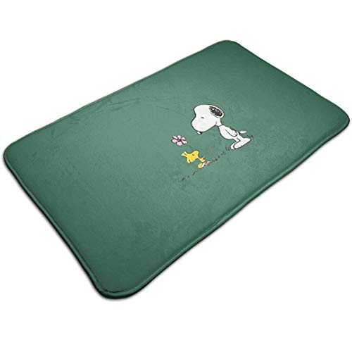 Meirdre Welcome Door Mat Snoopy Indoor Outdoor Entrance Rug Floor Mats Shoe Scraper 19.5