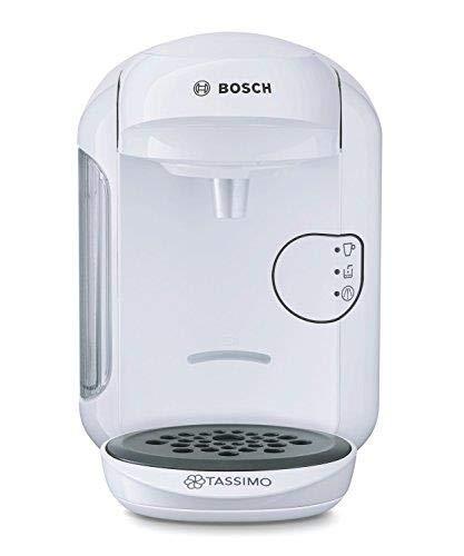 Tassimo by Bosch Bosch Tassimo Vivy Tas1404Gb Multi Beverage Machine, 1300 Watt, 0.7 Litre - White [Energy Class A] (Hot Drinks Tassimo)