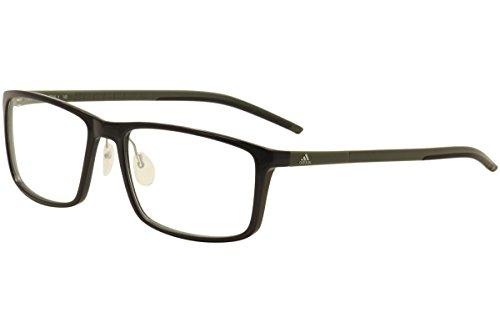 Adidas Eyeglasses Litefit 2.0 AF4610 692/10 6113 Black/Olive Optical Frame 56mm