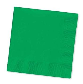 20 Lime Green Napkins 33cm 2ply