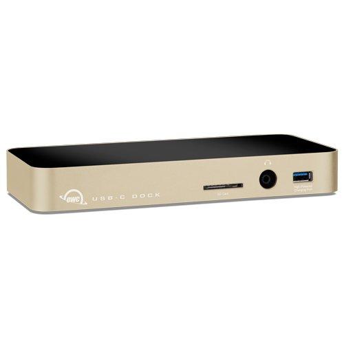 OWC USB-C Dock, 10 Port, Designed for MacBook-Gold w/Mini DisplayPort from OWC