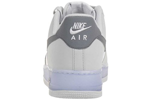Nike AIR Force 1 Leather Sneaker Lifestyle trainers white 488298 069 Men