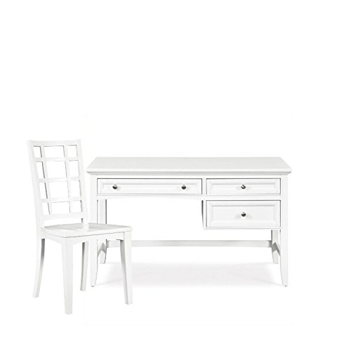 Magnussen Kids Desk and Chair Set in White ()