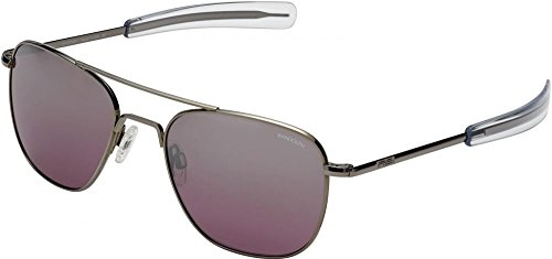 Randolph Infinity Aviator - Sunglasses With Logo Crown