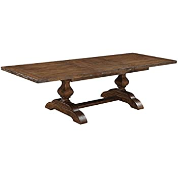 Amazon Com Emerald Home Chambers Bay Rustic Brown Dining
