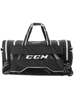 (CCM Hockey 380 Wheeled Bag, Black 37