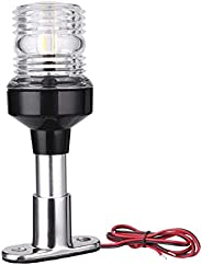 Marine Boat Lights Led Anchor Light 360 Degree All Round Led Fixed Mount Navigation Light with Base for Boats
