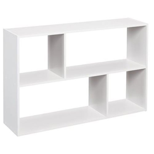 ClosetMaid 1580 Cubeicals Mini Off-Set Organizer, White