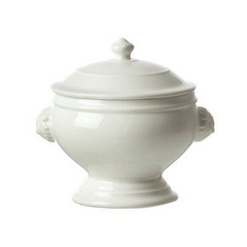 La Porcellana Bianca Chimera Lion Soup Tureen with Lid