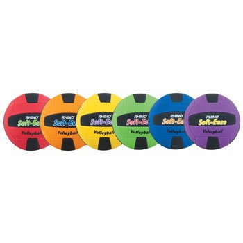 Champion Sports Rhino Soft Eeze Volleyball Set (Multi) by Champion Sports