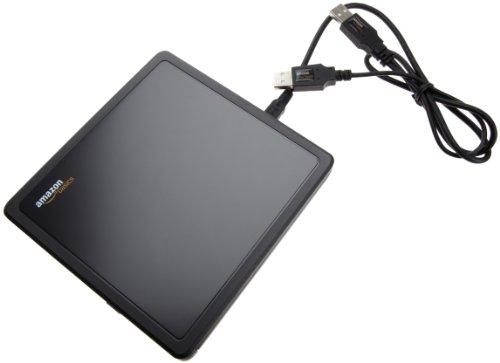 AmazonBasics USB 2.0 8x DVD Writer External Optical Drive (Black)
