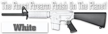 21 Finishes (DuraCoat Firearm Finish - 4 oz Bottle with Hardener (21 - White))