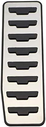 Pedana poggiapiedi///Copridisco/Designazione Automatica/2 Pezzi AT Senza Riposo KJLTLD Pedali del Gas Auto Pedale del Freno//Misura per Land Rover Range Rover Evoque 2012