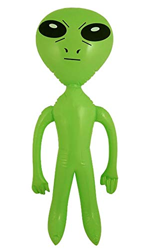 Rimi Hanger Inflatable Blow Up Party Fancy Dress Accessory Hen Stag Decoration Beach Toys (Inflatable Alien) One Size