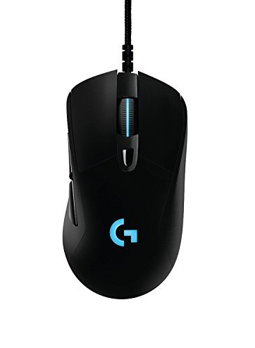 31EnwGuoERL - Aikun GX51 optical gaming mouse with 6 keys & blue color led light