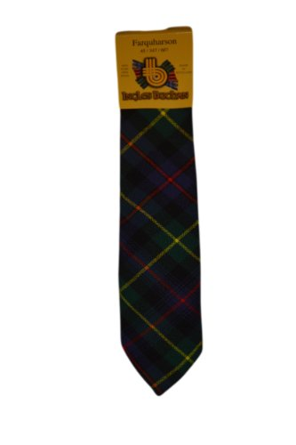 Gents Neck Modern Tartans of Available Tie 100 Farquharson Selection a Wool Tartan in rtr6S