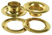 Imperial 37012 Tarp Grommets #5, 5/8'' Solid Brass by Imperial