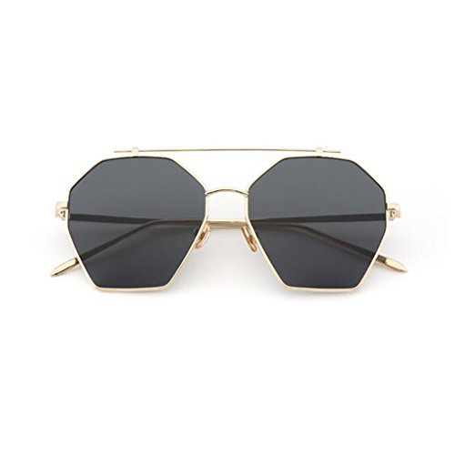 Espejo Reflective Fashion UV400 Color la de Gafas HOME de Anti Sol Gran Océano Polarizada Viaje Beat Espejo 1 Luz Vintage Movimiento Street Marco 4 QZ Personalidad Decorativo Sg8aTcyg