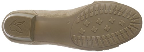 Caprice 22303 - Tacones Mujer Marrón - Braun (TAUPE SUEDE 343)