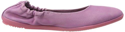 Softinos Women's Ona380sof Washed Closed Toe Ballet Flats Purple (Lilac) 8e05VzcV