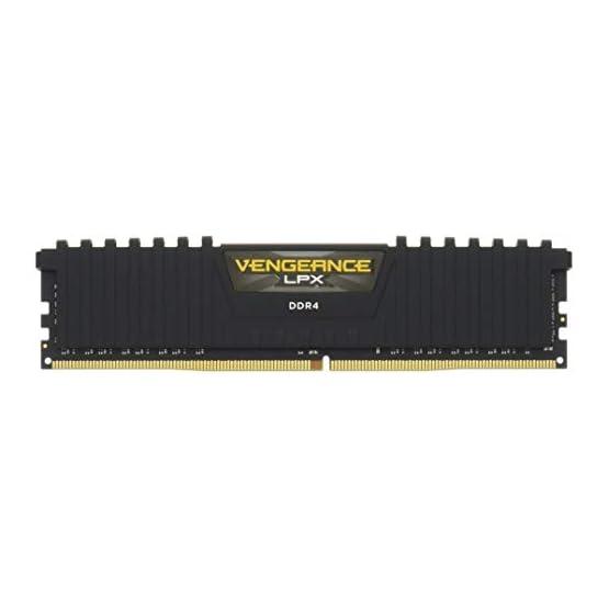 Corsair Vengeance LPX 16GB (2x8GB) DDR4 DRAM 2133MHz (PC4-17000) C13 Memory Kit - Black 31Eo0H8h7ZL. SS555