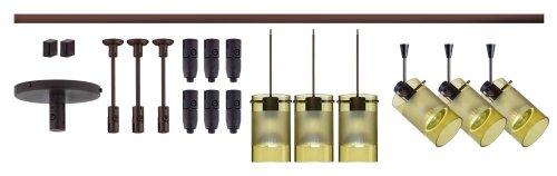 Besa Lighting R12-K08LE-6524EL-BR Scope Spotlights & Pendants LED 8