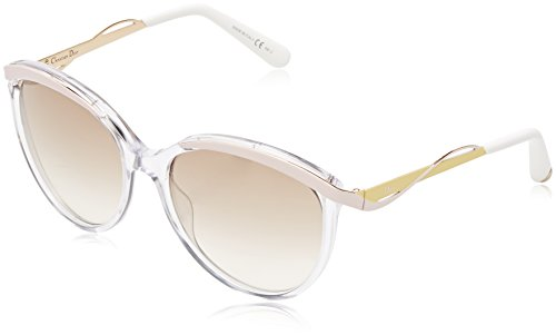 Dior 6OB Clear-pink-yellow Metaleyes1 Butterfly Sunglasses Lens Category - Sunglasses Dior Pink