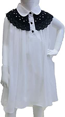 Jojo White Tunic For Girls 19 Us
