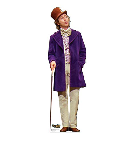 Advanced Graphics Willy Wonka Life Size Cardboard Cutout Standup - Willy Wonka & The Chocolate Factory ()