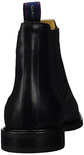 Gant Ricardo, Stivali Chelsea Uomo Nero (Black G00)
