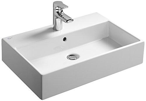(Ideal Standard k077801 White Strada 600 mm Countertop Washbasin,)