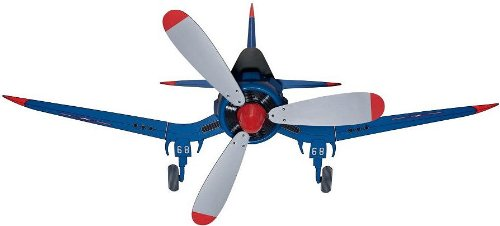 Hunter Airplane Ceiling Fan 59031 48'' Kids Flush Mount Fantasy Flyer, Blue (Desk Fan Included)