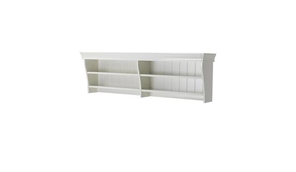 Ikea LIATORP - Wall/estantería Puente, Blanco - 145x47 cm ...