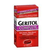 - Geritol Complete High Potency Multi-Vitamin Plus Multi-Mineral Tablets - 40 Ea, 3 Pack by Geritol