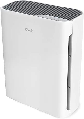 LEVOIT Air Purifier for Home Large Room, H13 True HEPA Filter Cleaner for Allergies and Pets, Smokers, Mold, Pollen, Dust, Quiet Odor Eliminators for Bedroom, Vital 100, 1-Pack, White
