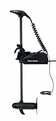 MotorGuide 12-Volt Wireless Freshwater Trolling Motor with Foot Pedal, 45-Pound Thrust, 48-Inch Shaft
