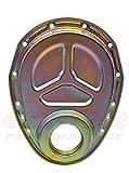 #4: CFR HZ-4934-1-Z Steel 1955-95 Chevy SB 283-305-327-350-400 Timing Chain Cover - Zinc