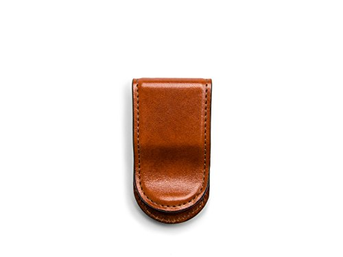 Bosca Old Leather Covered Money Clip ()