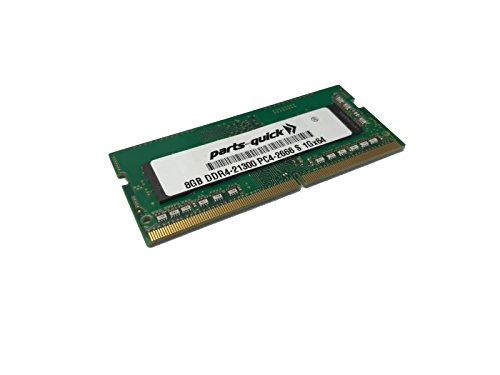 8GB Memory Upgrade for Dell Inspiron 14 3000 Series (3481) 1Rx8 Compatible RAM DDR4 2666MHz SODIMM (PARTS-QUICK Brand) ()
