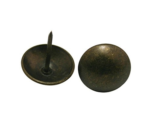 Antique Brass Round Large-headed Nail Diameter - 4