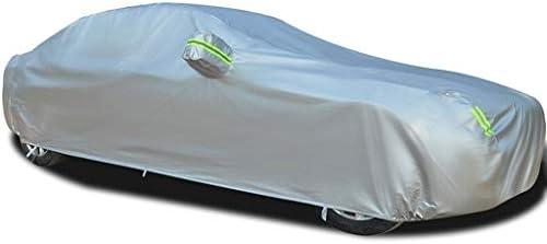 日産Versaと互換性のあるフルカーカバー全天候保護オートプロテクター防水フルエクステリアカバー自動車用日除けカバーカーシェルター屋外カーディフェンダー