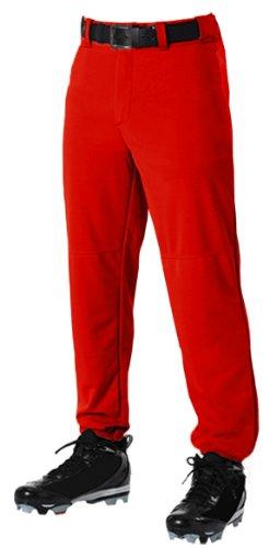 ベルト付きウエスト野球パンツ – 大人用 B004CW7CPS Medium|スカーレット スカーレット Medium