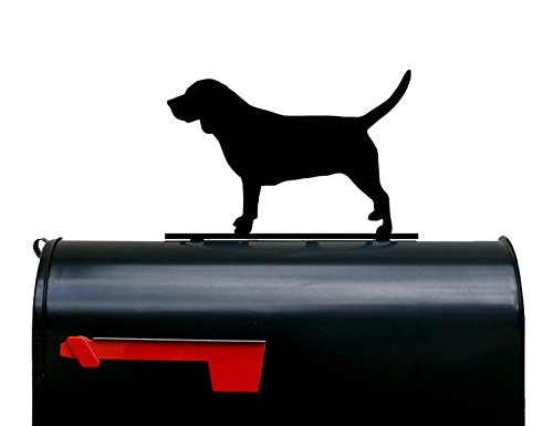 Beagle Dog Silhouette Mailbox Topper / Sign